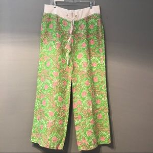 NWT Lilly Pulitzer Linen Beach Pant