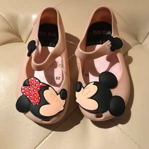 """Mini Melissa Other - Mini Mickey toddler shoes""""reduced"""""""
