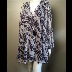 Elizabeth and James Charlee Grid-Print Dress