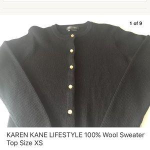 Karen Kane Sweaters - KAREN KANE LIFESTYLE 100% Wool Sweater Top Size XS