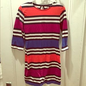 FRENCH CONNECTION striped stretchy dress sz 6