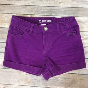 Cherokee Other - 💜Size 10/12 Cherokee jean shorts