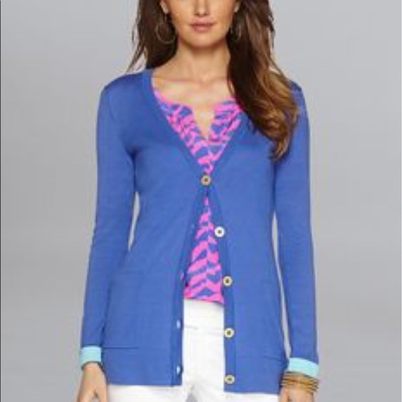 54% off Lilly Pulitzer Sweaters - Lilly Pulitzer Heidi Cardigan ...