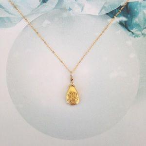 Satya Jewelry Jewelry - Satya Lotus Rising Pendant Necklace