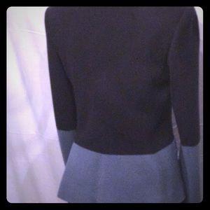 The Row Jackets & Coats - THE ROW Navy & Slate Color Block Blazer