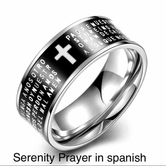 60a8268b2 Jewelry | Spanish Serenity Prayer Ring | Poshmark