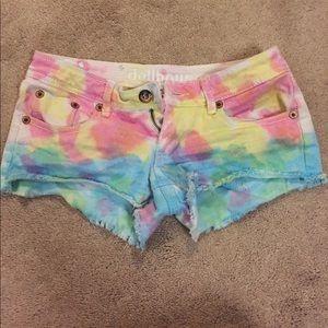NWOT Tie-Dye Dollhouse Shorts