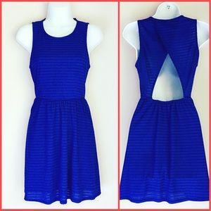 Sparkle & Fade Dresses & Skirts - Urban Outfitters Cobalt Blue Dress
