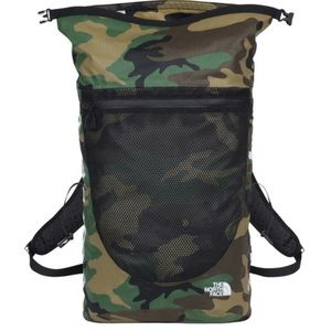 03c9ecc3 Supreme Bags | Ss17 The North Face Woodland Camo Backpack | Poshmark