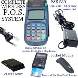 COMPLETE *NEW* WIRELESS | REMOTE P.O.S. SYSTEM!