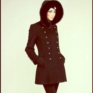 Searle Double-Breasted Wool Coat