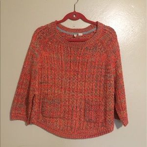 Pink vintage style sweater