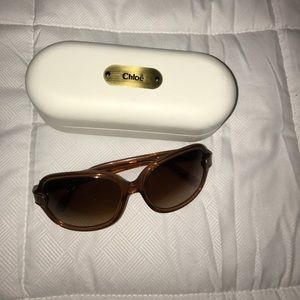 Authentic Chloe Sunglasses with Case