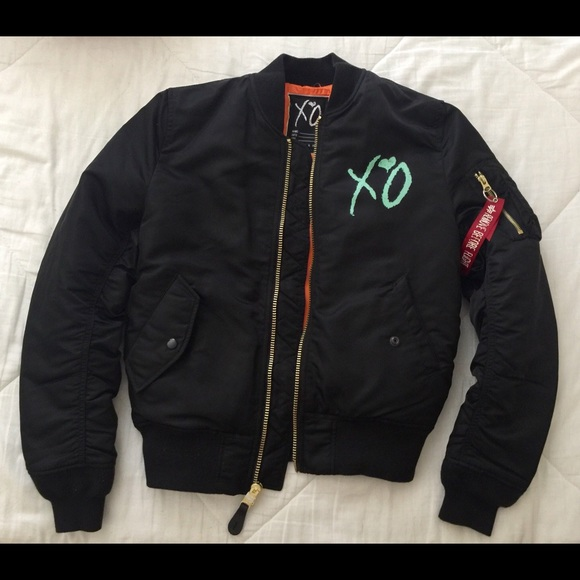yet not vulgar complete range of articles soft and light The Weeknd XO Bomber Jacket