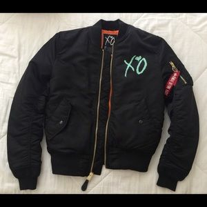 Alpha Industries Other - The Weeknd XO Bomber Jacket