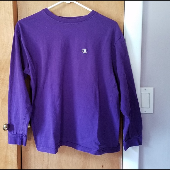 3c5179f8 Champion Tops | Final Price Purple Shirt | Poshmark