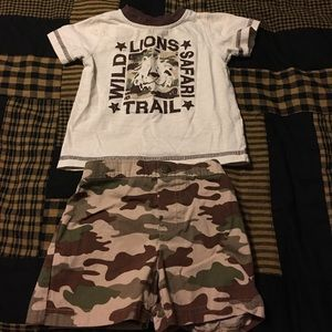 fisher price Other - 2 Piece Set Camo Size 12 Months