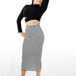 Cupro Skirt - PAPILLON by VIDA VIDA