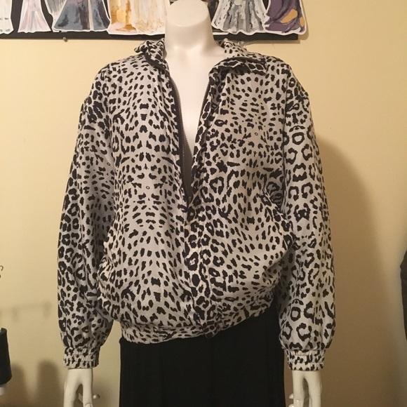 FUDA International Jackets & Blazers - { FUDA INT. } Vintage 80s Silk Windbreaker