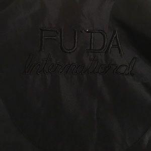 FUDA International Jackets & Coats - { FUDA INT. } Vintage 80s Silk Windbreaker