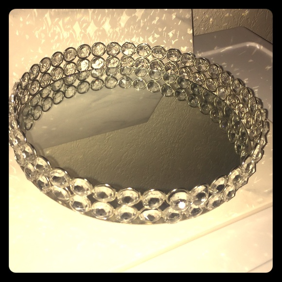 Hobby lobby jewelry or perfume stand faux diamond from for Hobby lobby jewelry holder