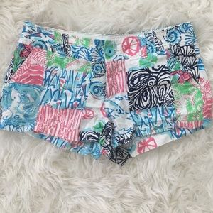 Lilly Pulitzer Pants - Lilly Pulitzer Walsh Shorts in multi Osterville!