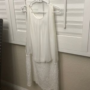CACHE Dresses & Skirts - Cache White Cocktail Dress