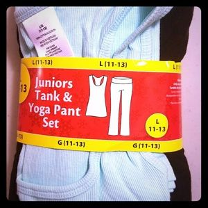 Other - NWT Juniors Yoga Pant and Tank Set