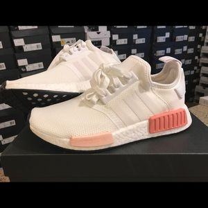 ceb711e00 adidas Shoes - Adidas NMD R1 White Rose women Brand New