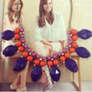 Jewelry - Navy and orange necklace