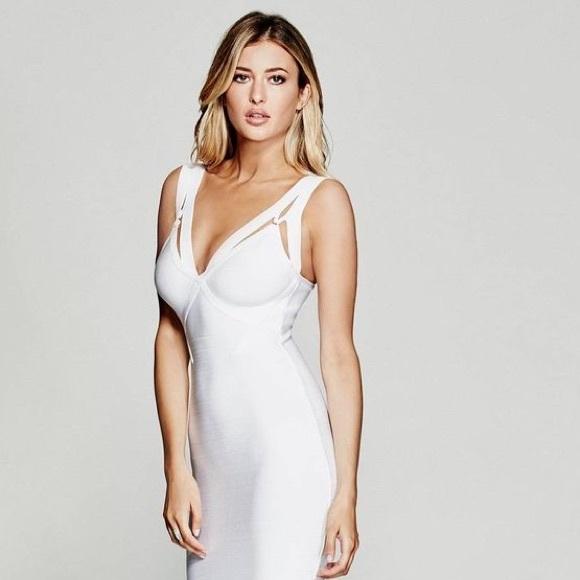 9d663f81edf Marciano White Bandage Dress. M 595d8236c6c795baeb1549b0