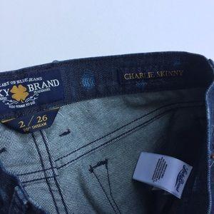 Lucky Brand Jeans - NWT Lucky Brand Charlie Skinny Jean