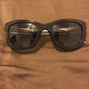 Burberry Unisex Wayfarer Sunglasses
