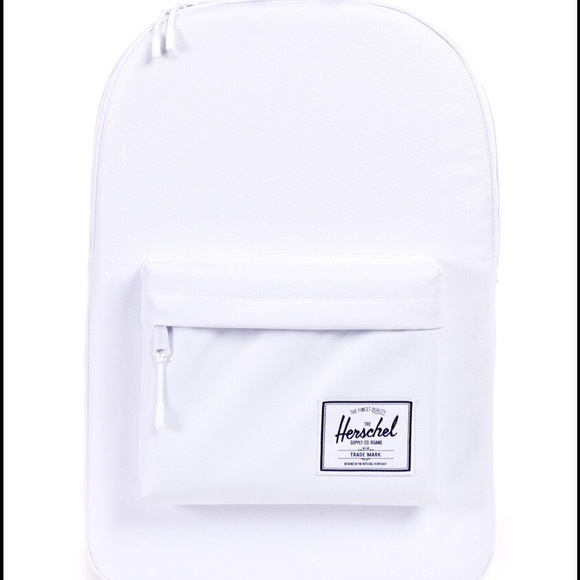 575495bd9b0 Herschel Supply Co Classic Backpack WHITE⚪ ⚪ ⚪ ⚪️