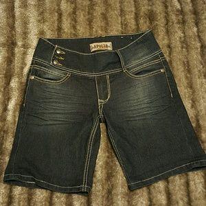 Apollo Jeans Pants - APOLLO Denim Bermuda Shorts
