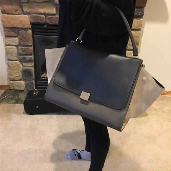 9f2d29fc33 Celine Handbags - Celine Trapeze bag   LARGE size