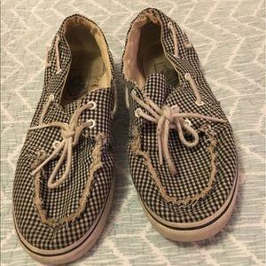 Vans Shoes - Vans Checkered Boat Shoes