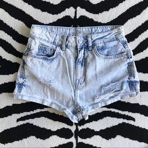 Topshop Pants - Topshop High Waisted Shorts