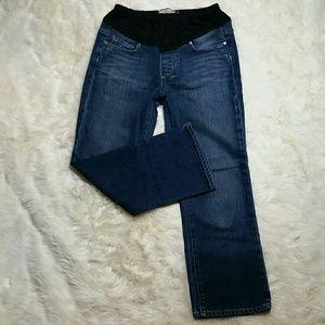 Paige Jeans Denim - Paige Maternity Crop Jeans Size 28