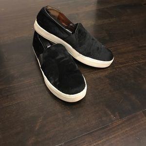Vince calf hair sneakers