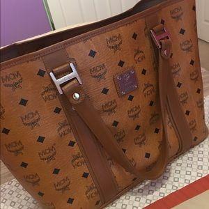 MCM Handbags - Auth MCM bag in excellent condition