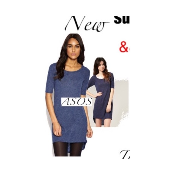 ASOS Dresses - ASOS // Semi sheer tunic dress // size sml s 2 4