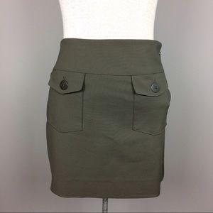 Nicole Miller Dresses & Skirts - Nicole Miller olive green skirt