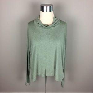 Bryn Walker light green oversized slouchy top