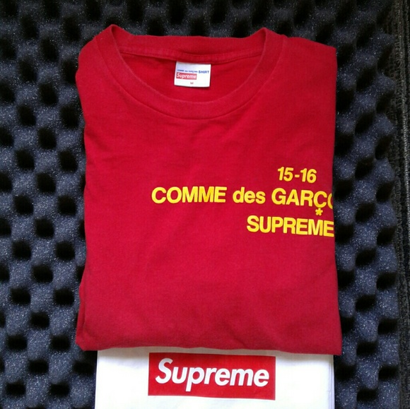 7756d29dd9ab Supreme x Comme des Garcons. M 5971365d522b4511bd0634a8