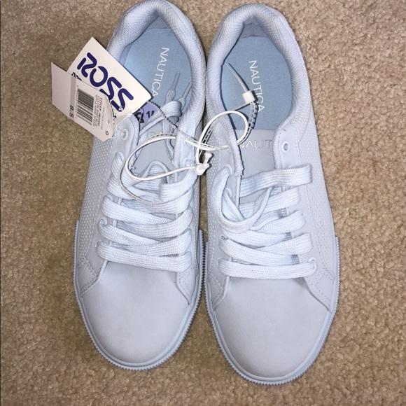 nautica shoes baby blue poshmark