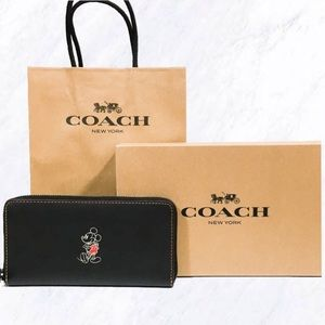 Disney x Coach Limited Edition Mickey Mouse Wallet