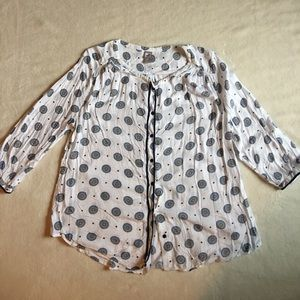 jcpenney Tops - Beautiful print button down