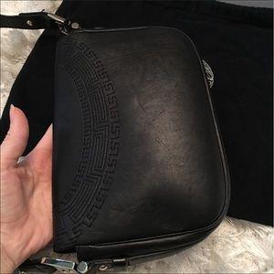 d44f37ff0484 Versace Bags - Gianni Versace Vanitas Tassel Black Leather Bag