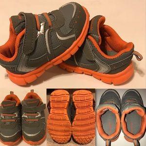 Baby 👶 Grey & Orange Garanimals shoes  Size 5